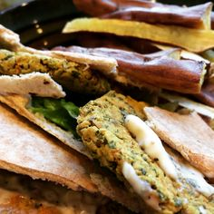 This Herb, Seed and Spice Falafel is my favorite dish to make along with Sweet Potato Fries. The recipe is on my blog: #vegan http://sweetdebbiesorganiccupcakes.com/herb-seed-spice-falafel/