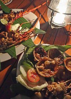 BBQ Seafood at Jimbaran Beach
