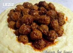 Meatballs in Puree Bed – My Delicious Food – Food Recipes Baby Food Recipes, Fall Recipes, Asian Recipes, Soup Recipes, Chicken Recipes, Dessert Recipes, Ethnic Recipes, Turkish Recipes, Serving Plates
