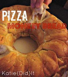Katie{Did}It: Easy Pizza Monkey Bread