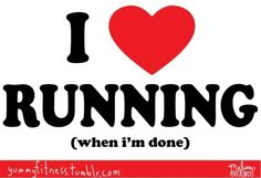 The best feeling is that running high.. Which I only seem to really get after longer runs
