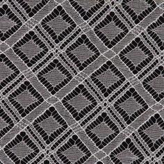 Ivory Diamonds Chantilly Lace Fabric by the Yard | Mood Fabrics