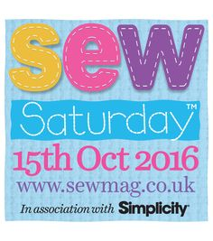 Sign Up To Sew Saturday 2016!