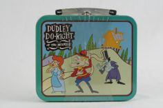 New Sealed 1997 Dudley Do Right of The Mounties Tin Box or Mini Lunch box - SOLD