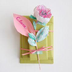 paper flower gift wr