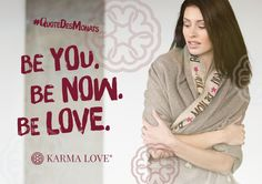"""""""Du kannst Dich nicht selbst finden, indem du in die Vergangenheit gehst. Du findest Dich selbst, indem du in der Gegenwart ankommst."""" Eckhart Tolle /// Be you. Be now. Be love. /// #KarmaLove #QuoteDesMonats #EckhartTolle #Yoga #spirituality #yoga #risebyliftingothers #meaningfulfashion #yogalove #yogalife Positive Messages, Statements, Inspire Others, Quotes, How To Wear, Beautiful, Fashion, Fashion Styles, Past"""