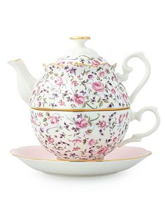 Royal Albert Country Roses Tea For One