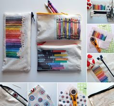 guest tutorial from Chez Beeper Bebe at Whip up how to print on fabric & make these gorgeous bags