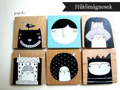 Poisjardin - handmade fridge magnets