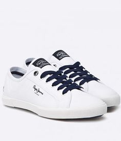 Tenisi Albi Pepe Jeans Barbati   Cea mai buna oferta Pepe Jeans, Sneakers, Shoes, Fashion, Tennis, Trainers, Moda, Shoes Outlet, Fashion Styles