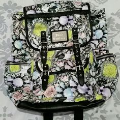 NWT Juicy Couture diamond backpack New with tags Juicy Couture colorful diamond pattern backpack. Juicy Couture Bags Backpacks