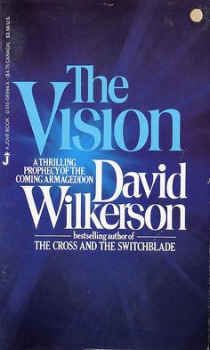 "There are about 100 predictions made by David Wilkerson in this book back in 1973. All of them came to pass. ""The Vision"" by David Wilkerson is a great book!"
