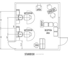 Are you opening a new salon or giving your salon design a refresh? Check out these 5 awesome salon floor plans to inspire you, and an exclusive interview with the owners of Parlor Blow Dry Bar about their floor plan design http://goo.gl/9RXWrA