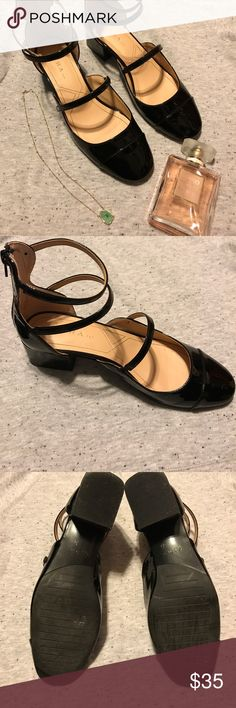 Zara strappy heeled shoes. Lovely lightly used Zara strappy heeled shoes😊 super cute and comfortable. Perfect to dress up 👗 or down 👚👖. It's a European size 39 (US 9) however, it fits like an 8.5 Zara Shoes Heels