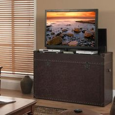 Home Automations Pop Up Tv Lift Cabinet In Under Three Hours Carpentry Built Ins And House Projects