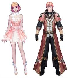 Costume Designs from Aion