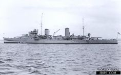 HMS Aurora (12) was an Arethusa class light cruiser of the British Royal Navy. (wikipedia.image) 01.17