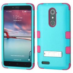 Now available on our store: MYBAT TUFF M-Stan... Check it out here! http://www.myphonecase.com/products/mybat-tuff-m-stand-zte-zmax-pro-case-teal-green-pink?utm_campaign=social_autopilot&utm_source=pin&utm_medium=pin