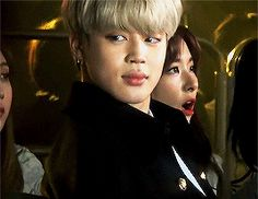 """""""Ice Prince ❄"""" that look tho. ❤️ JIMIN BTS"""