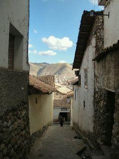 Calles de Cusco. Peru
