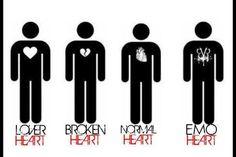 YUSSS!!! Emo heart!!!