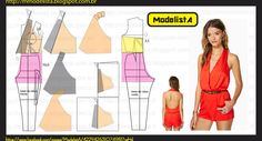 ModelistA: MACAQUINHO COSTA NUA Halter Back Shorts, really cute.