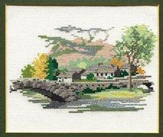 Grange in Borrowdale: Cross stitch (Derwentwater Designs, 14DD110)