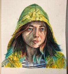 Self portrait watercolor 9x12 http://ift.tt/2ELFcWb