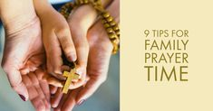 Setting aside a regular time to pray together as a family is the first step towards a lifelong habit of prayer for your kids. Here are nine strategies for getting started, plus tips for deal…