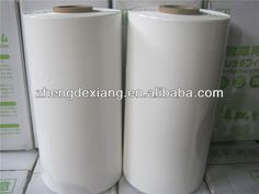 Silage Stretch Wrap Film 500mm*25um*1800Mts  22KG/Roll Color: Milky White  Skype: lee.rex2010 Stretch Film, Travel Mug, Stretches, Mugs, Tableware, Color, Dinnerware, Plastic Wrap, Tumblers