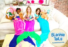 Have the Easter Bunny filll your baskets with Blankie Tails™ this Easter!