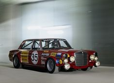 """MB 300 SEL 6.3 AMG (The daddy of all AMG cars) i almost put this on my """"Funny"""" board, a 4door racecar looks so out of place. I know this car will run well but the look."""