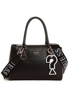 Felix Girlfriend Satchel at Guess Denim Handbags, Guess Girl, Guess Bags, Camouflage, Girlfriends, Bucket Bag, Satchel, Tote Bag, Purses