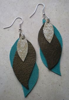 DIY Leather Earrings | Leather Crafts | Create Your Own Durable DIY Accessories #earringsprojects