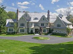 nantucket mansions | New Nantucket Style Colonial in Westport « Homes of the Rich – The ...