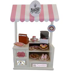 18-inch Doll - Bakery shop