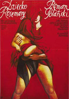 Polish poster Rosmary`s Baby (Dziecko Rosemary).