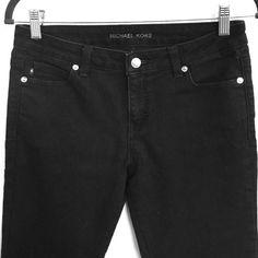 Michael Kors skinny stretch jeans Excellent condition. Black stretchy denim, very soft. 74% cotton/25% polyester/1% spandex. Michael Kors Jeans Skinny