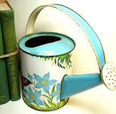 Butterfly watering can