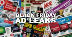 First Black Friday Ad Less than a Week Away!