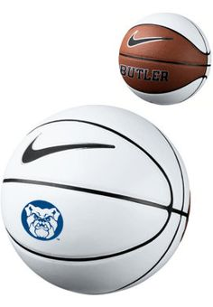 Official size replica basketball with panels suitable for autographics. Butler Basketball, Nike Basketball, Basketball Camps, Butler Bulldogs, Butler University, Sports, Rocks, Basketball Stuff, Hs Sports