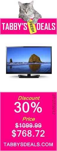 LG 47LS4600 47-Inch 1080p 120 Hz LED LCD HDTV $768.72
