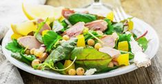 15 recettes pour brûler un max de calories ! Healthy Salad Recipes, Skinny Recipes, Light Recipes, Vegetable Recipes, Entrees, Healthy Life, Nutrition, Lunch, Meals