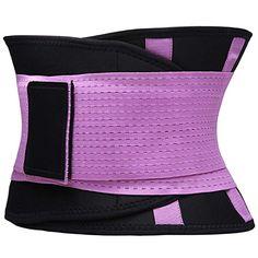 efcf173fb6c VENUZOR Waist Trainer Belt for Women - Waist Cincher Trimmer - Slimming  Body Shaper Belt -
