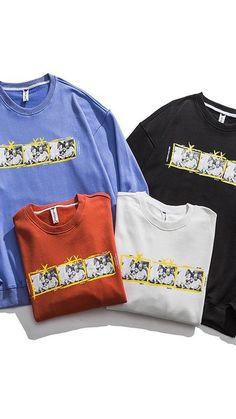 Crew Neck Sweatshirt, Ted, Unisex, Sweatshirts, Sweaters, Jackets, Fashion, Down Jackets, Moda