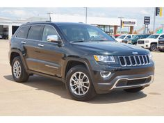 Used 2015 #Jeep Grand Cherokee Limited in Fort Smith, AR Area - Harry Robinson Buick GMC