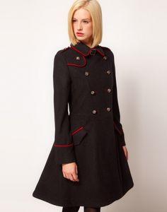 Płaszcz w stylu militarnym Marusia Kolory