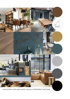Mood Board Interior, Interior Design Boards, Moodboard Interior Design, Home Room Design, Living Room Designs, House Design, Home Living Room, Living Room Decor, Paint Colors For Home