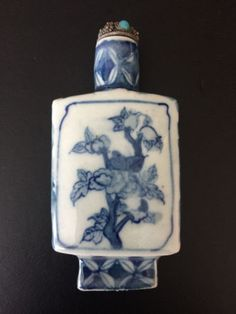 Porcelain-Snuff-Bottle-Rare-Collectible