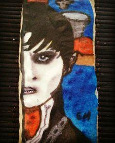 Galleta pintada a mano Barnabas Collins
